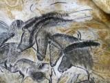 Le panneau des chevaux de La Caverne du Pont-d\'Arc © SYCPA