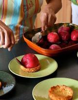 Peach treat for desert © Patricia G.