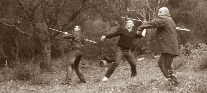 Séminaire chasse et survie à la préhistoire en Ardèche©Pierre GERAULT